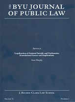 Brigham Young University Journal of Public Law