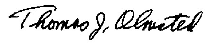 Signature-Thomas Olmsted